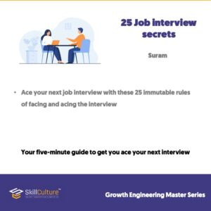 25 Job interview secrets